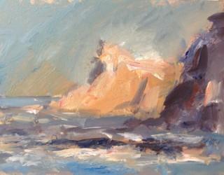 Cliffs at Staithes