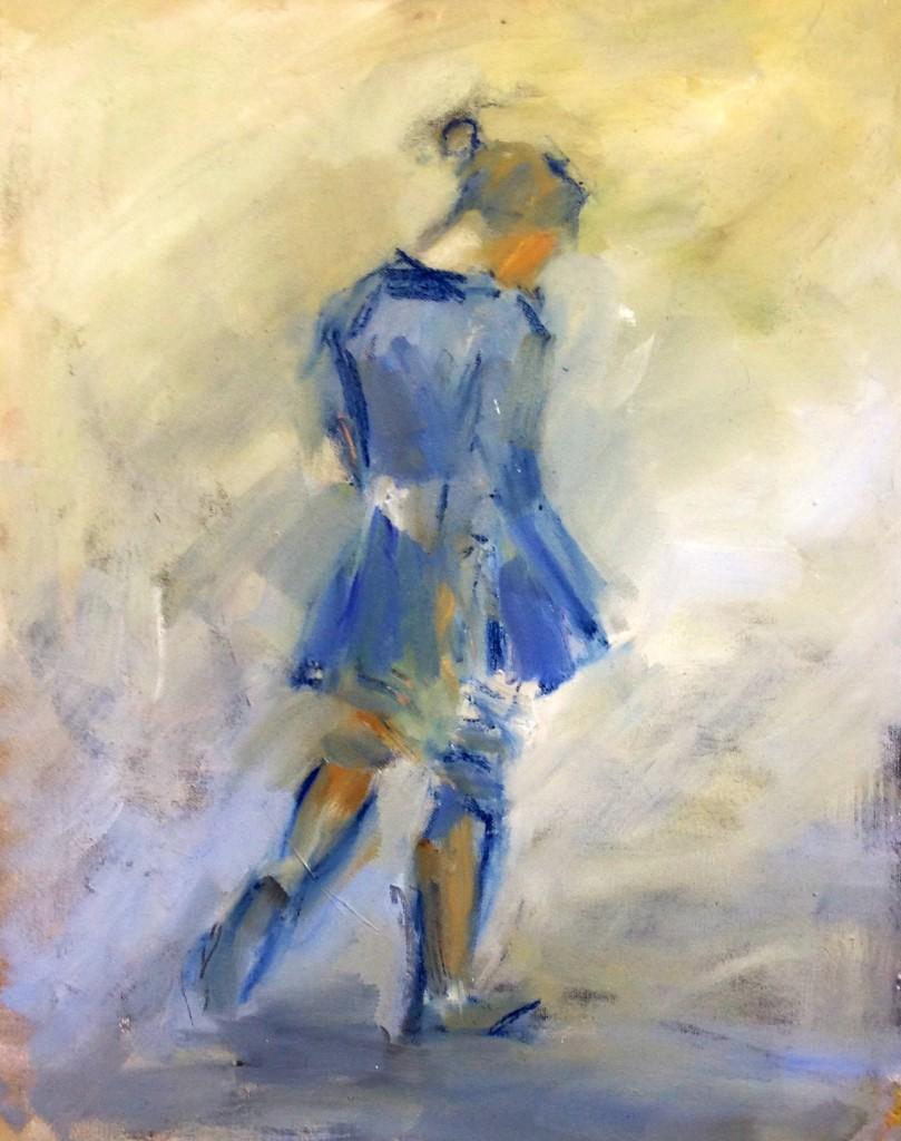 Walking Girl 2