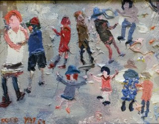 49. Fred Yates. Children Playing