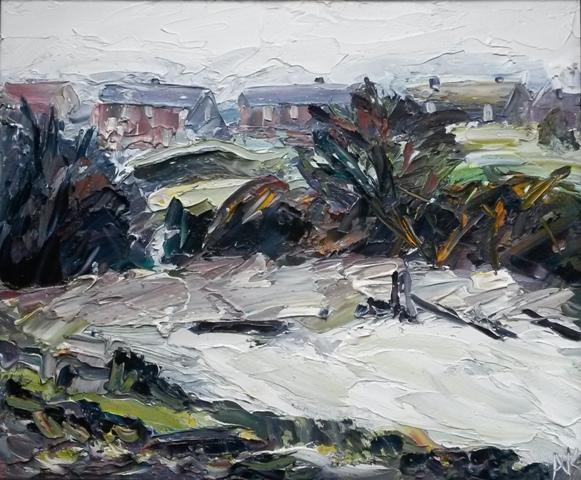 53. Alan Knight. Frosty Morning Hazel Grove