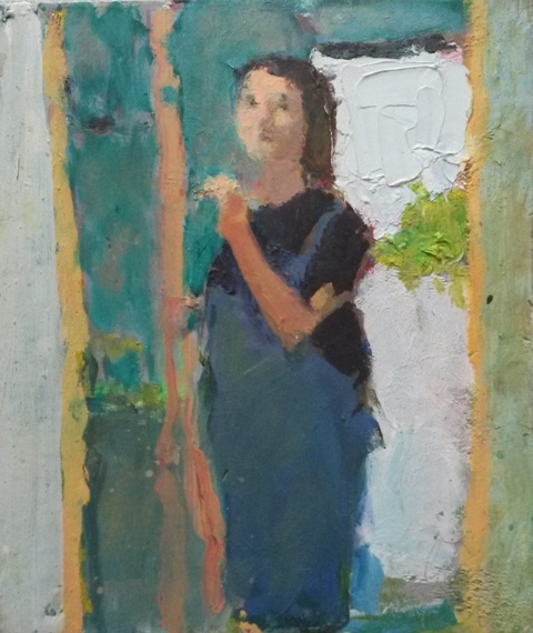 24. Gina Ward. At the Easel