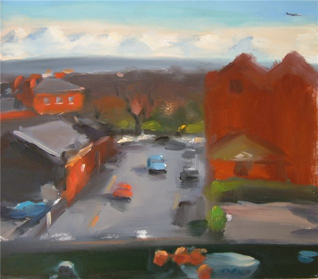 50. Liam Spencer. Cakebread Street from Studio Window