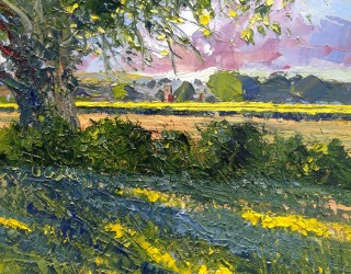 14. Richard Clare. Looking across Dedham Vale