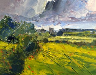 16. Richard Clare. Rain Clouds over Constable Country