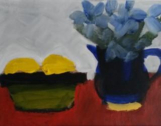 39. Michael Howard. Still Life with Lemons