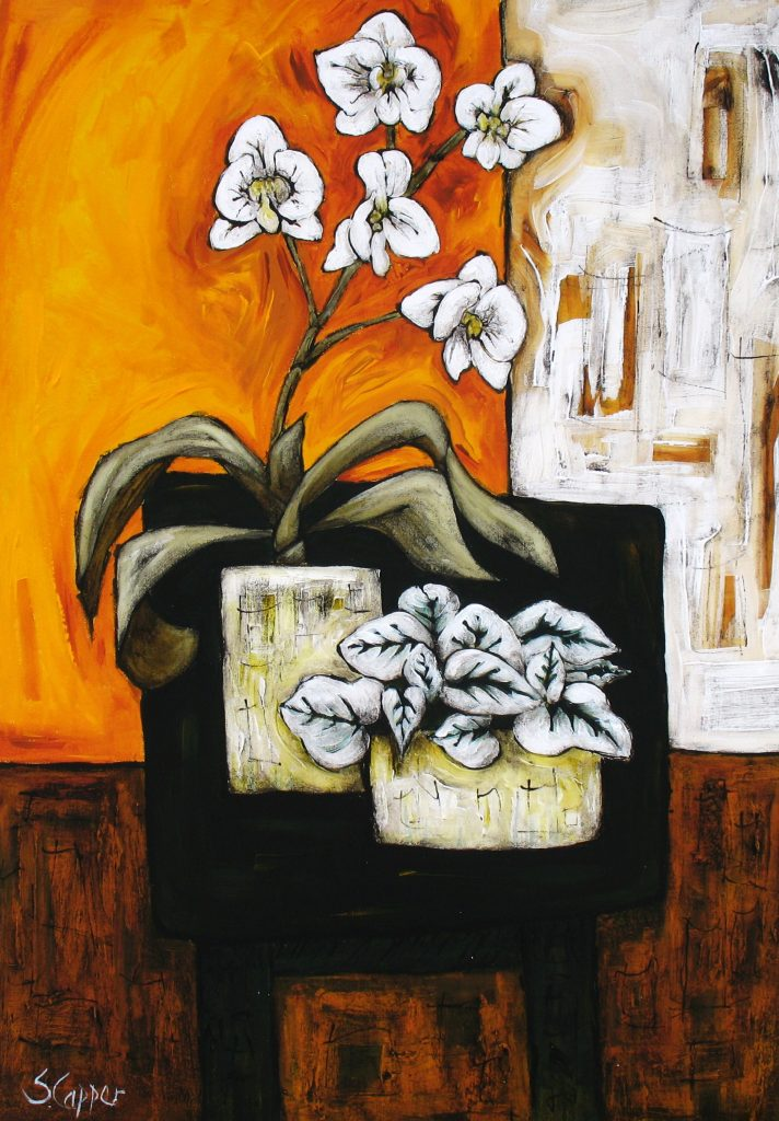 Still Life With Black Table