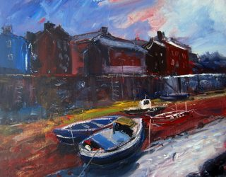 A Hint of Sunshine, Staithes, Yorkshire