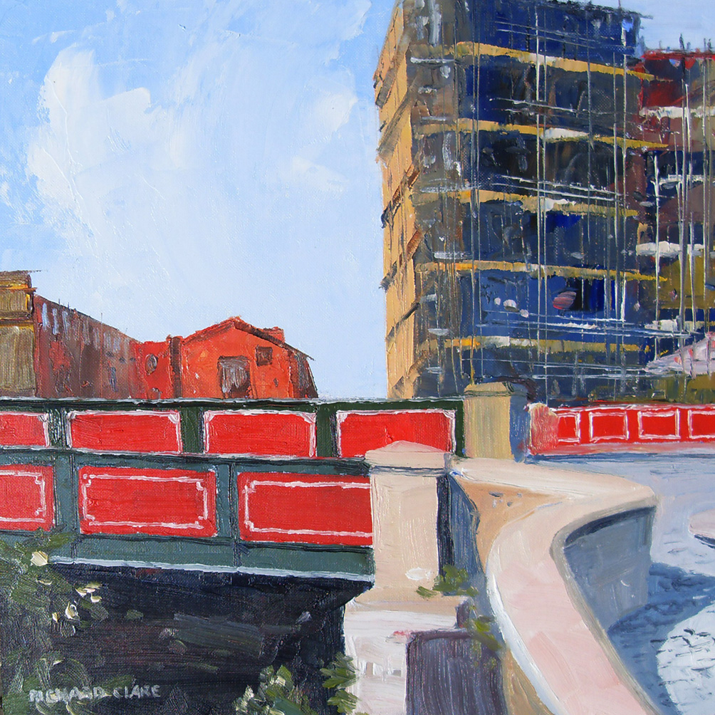 Red Cast Iron Bridge, Manchester