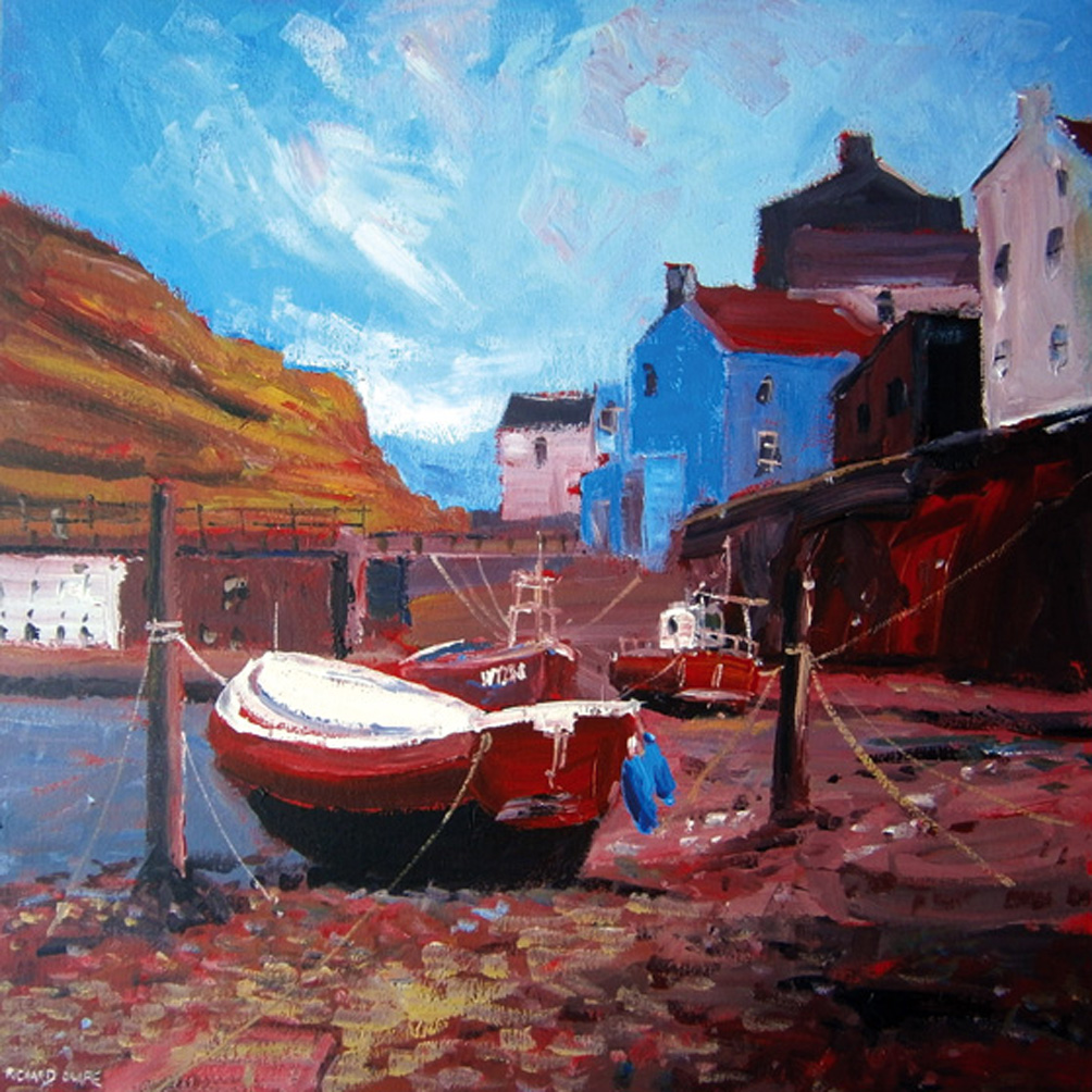 The Blue House, Staithes, Yorkshire