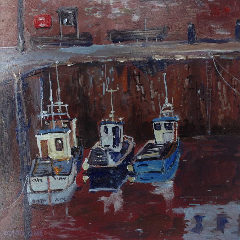 Waiting to go Out, Pittenweem, Scotland
