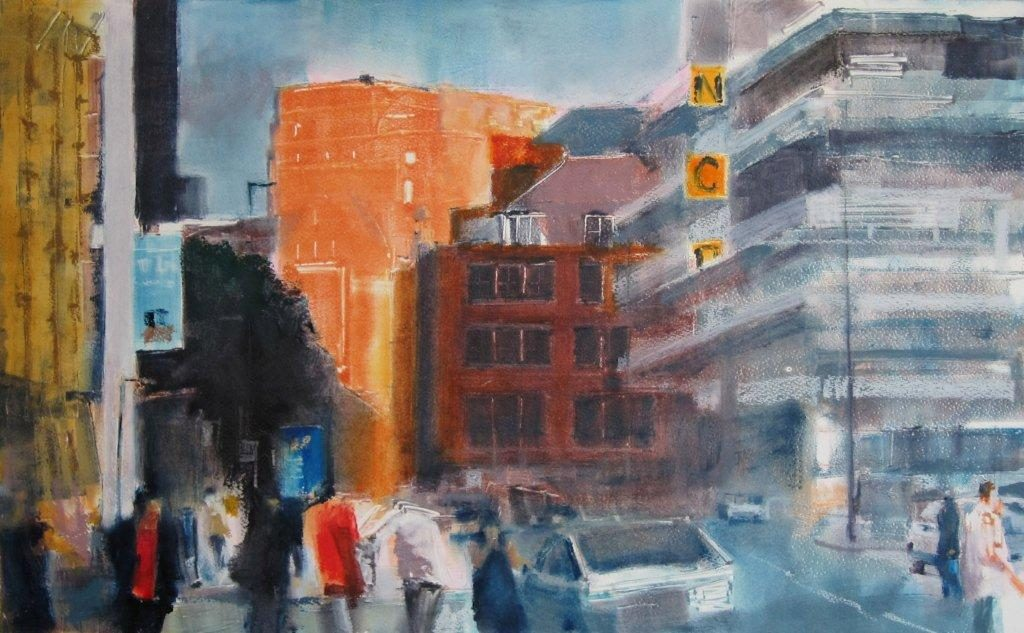 22. Ian Jarman – Summer Evening, Chorlton Street