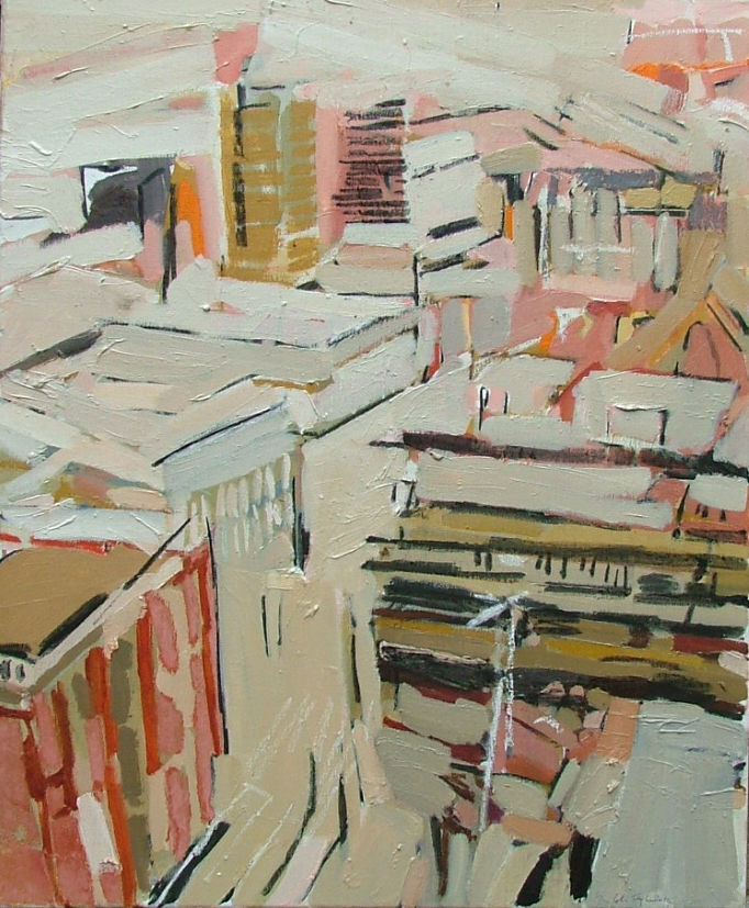 Colin Taylor. Aytoun Street from City Tower
