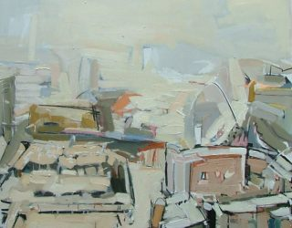 Colin Taylor. The River Medlock Tunnel from Beetham Tower