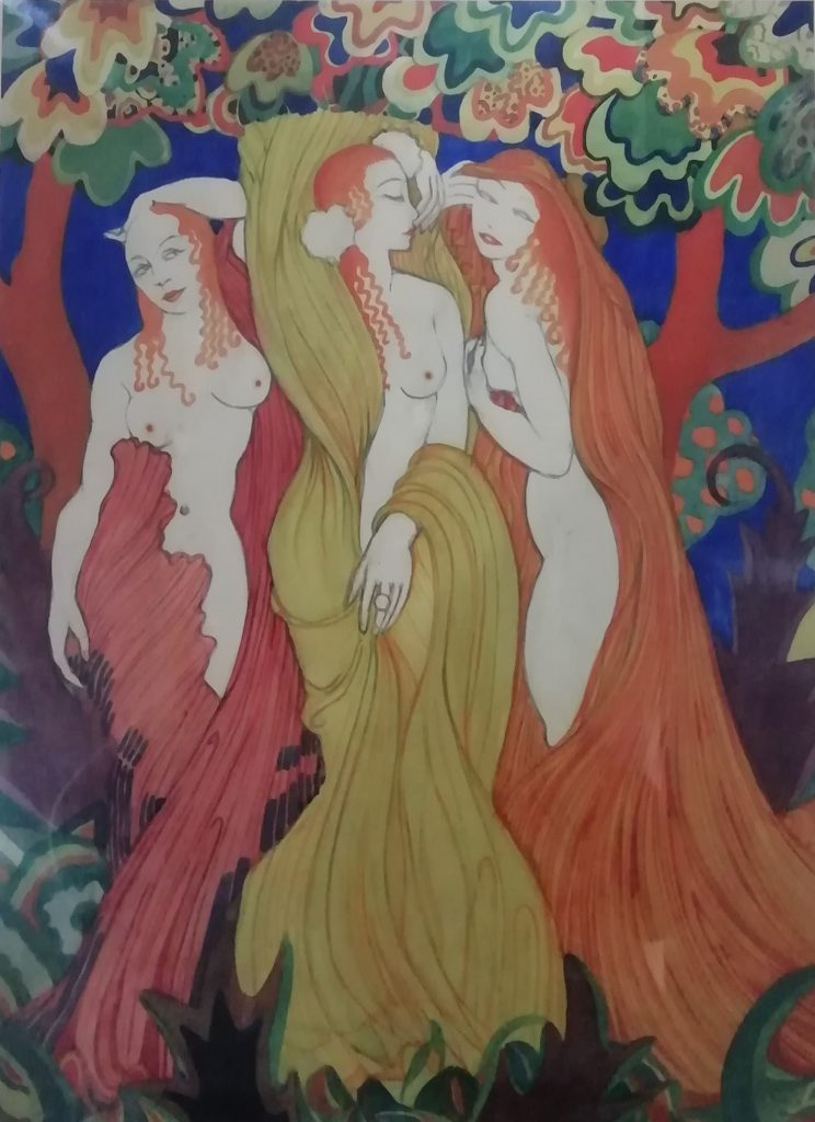Albert Wainwright. The Three Graces