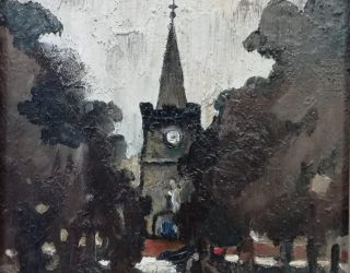 William Turner. Chelford Church
