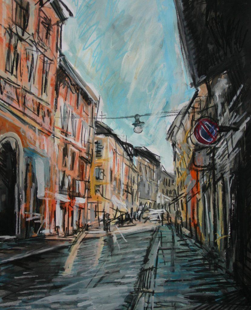 Matthew Thompson. Early Morning Sun, Reggio-Emilia