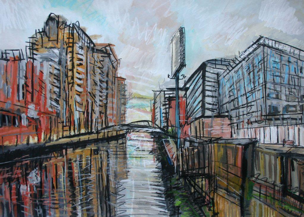 Matthew Thompson. Irwell from Albert Bridge
