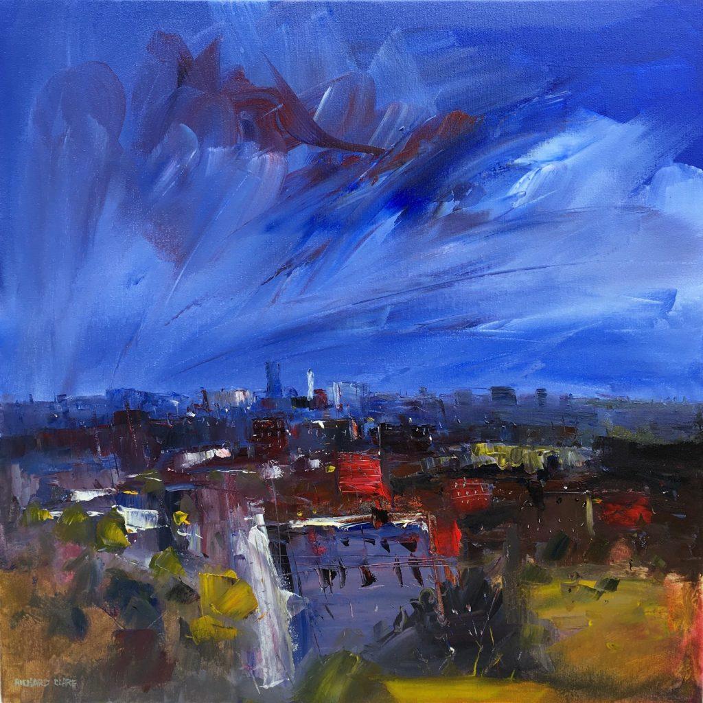 Richard Clare. Manchester Skyline