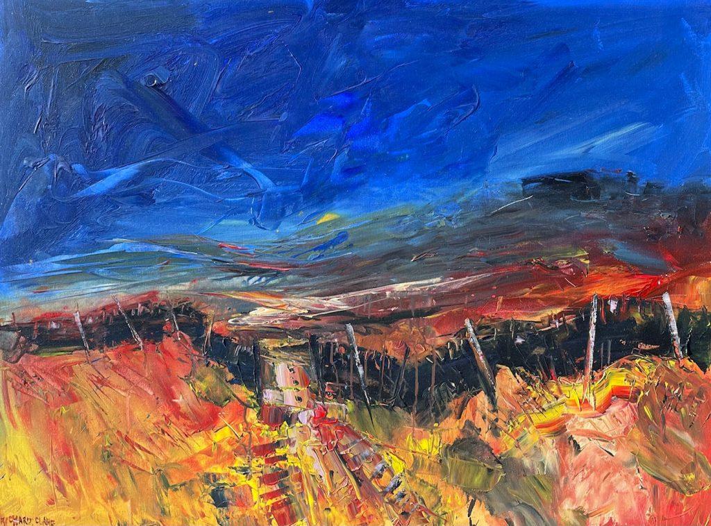 Richard Clare. Moorland Wall