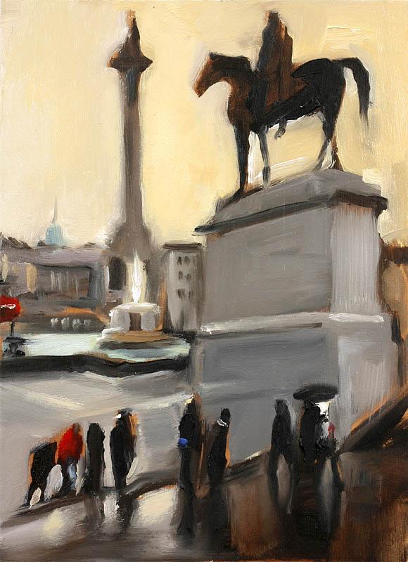 Liam Spencer. Trafalgar Square
