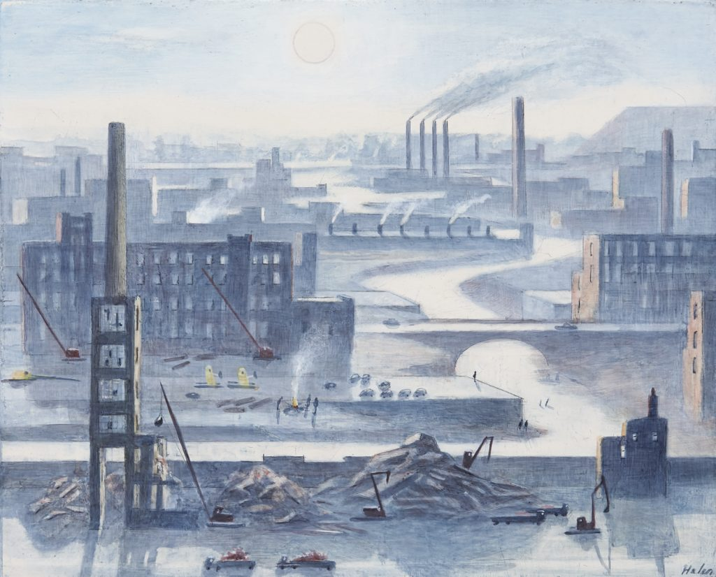 Helen Clapcott. By the River