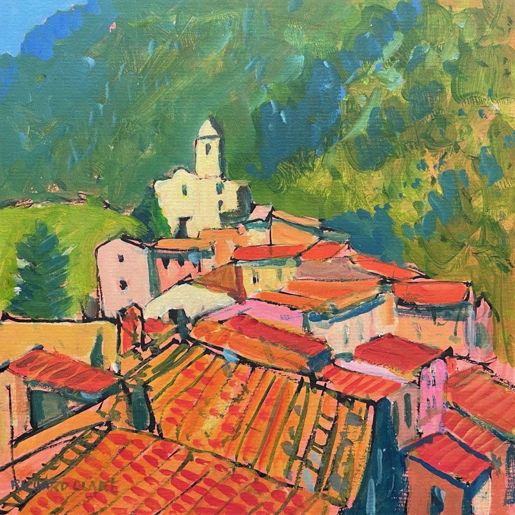 Hilltop Village above Monaco
