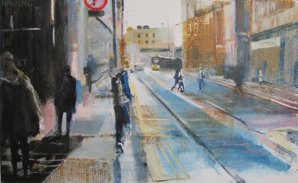 Ian Jarman. Mosley Street