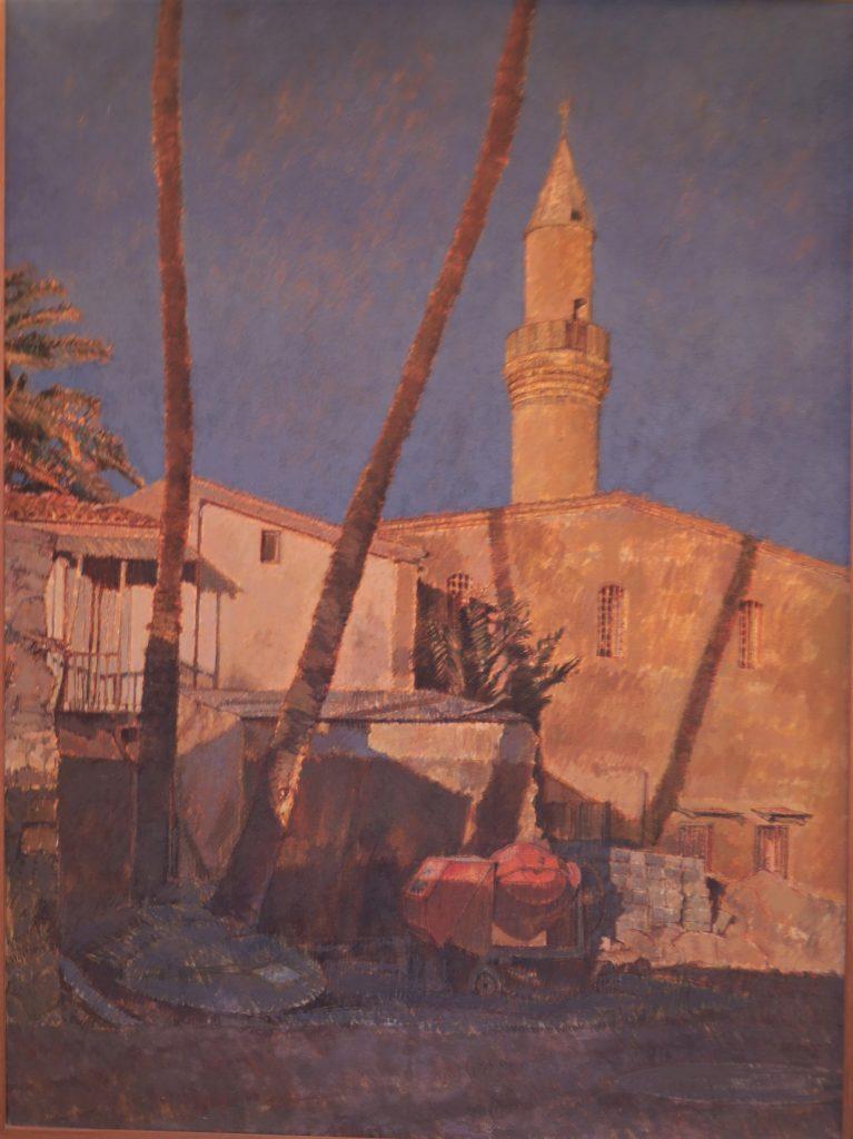 Janina Cebertowicz. Cyprus 1