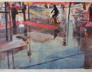 Ian Jarman. Pavement Reflections