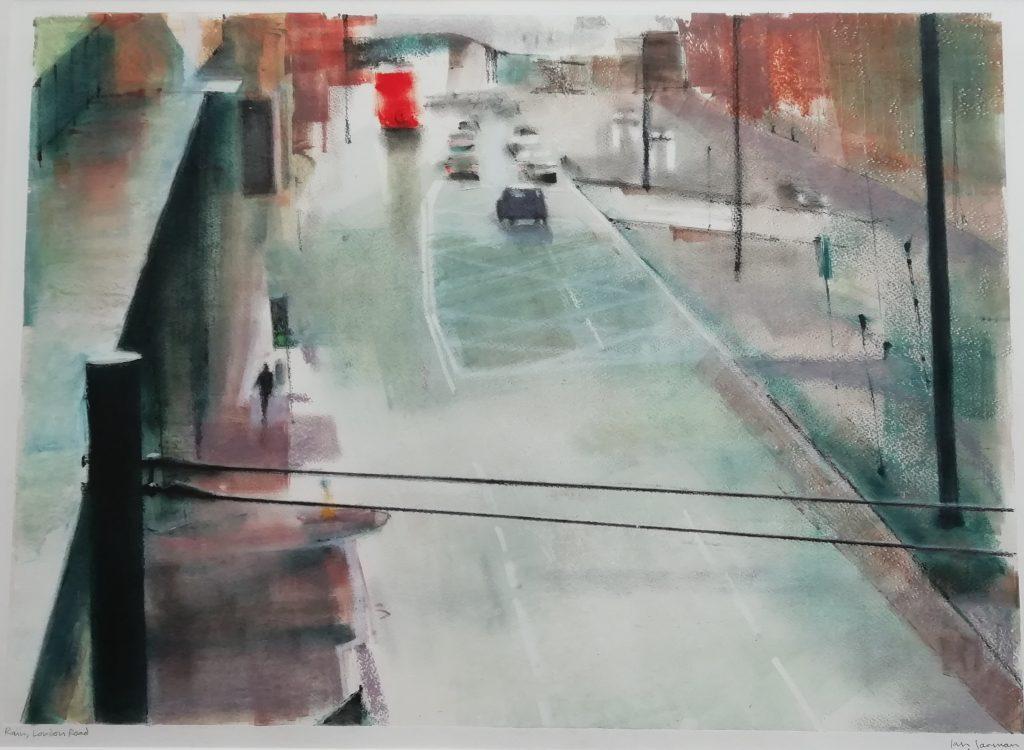 Ian Jarman. Rain London Road