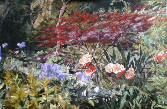Janina Cebertowicz. Summer Garden June
