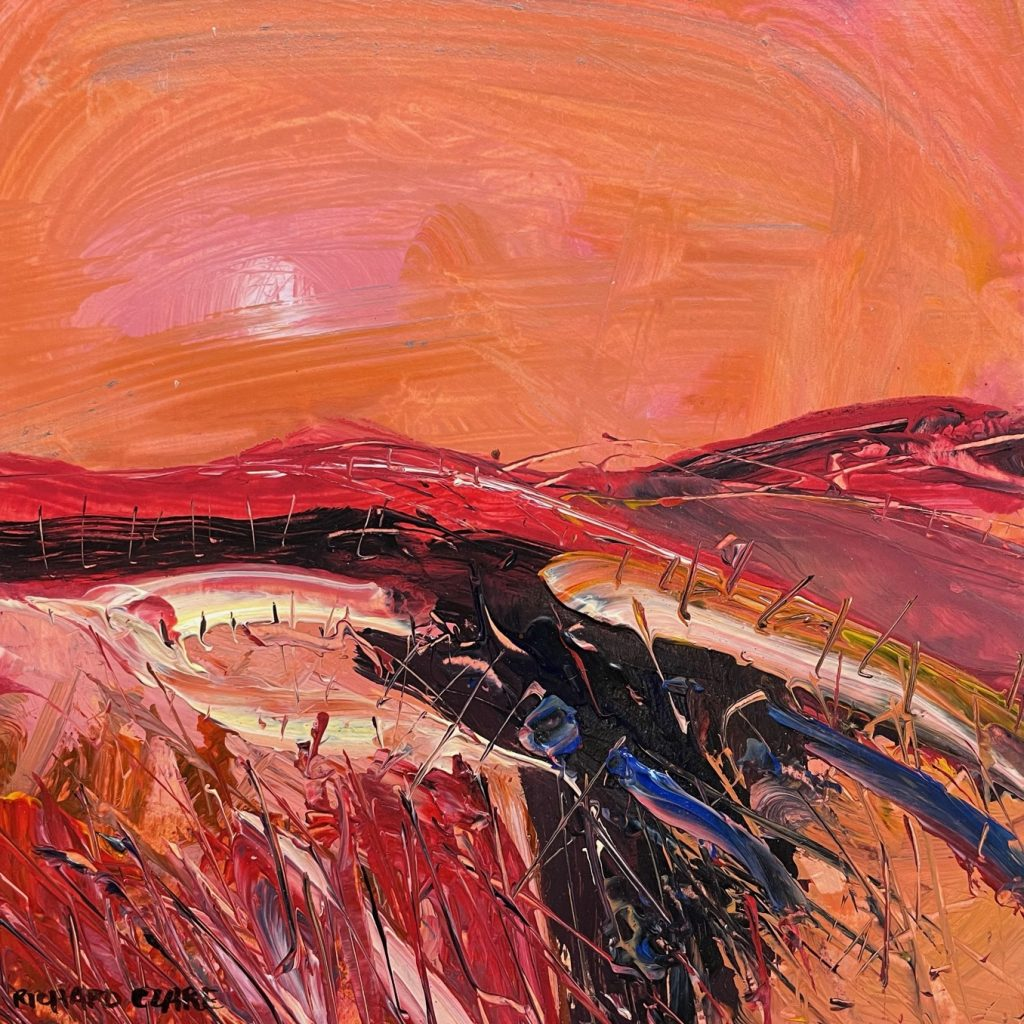Sunset Across the Moors