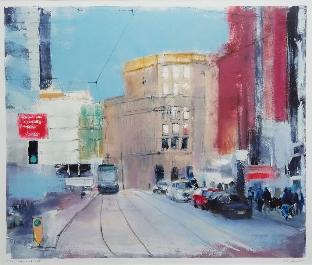 Ian Jarman. Tramlines and Traffic